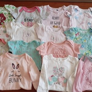 Baby Girl Onesies 6-9 months